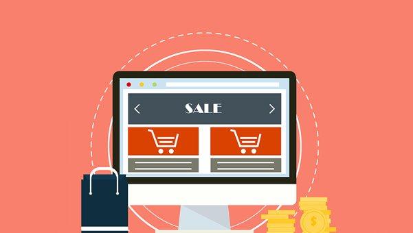 ecommerce website design, shopping cart website